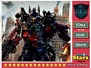 Play Transformers hidden stars Game