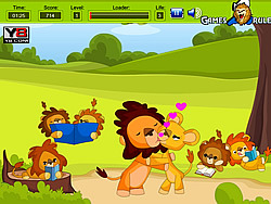 Lion Kiss game