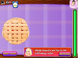 Barbie Tomato Pie game