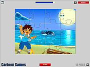 Play Diego jigsaw game Game