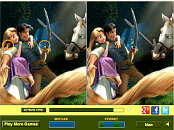 Rapunzel and Flynn Difference game