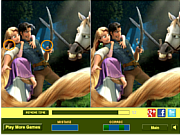 Play Rapunzel and flynn difference Game