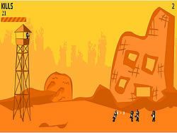 Tankmen Zombie Attack game