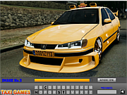 Play Taxi cab letters Game