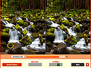 Play Forest waterfalls difference Game