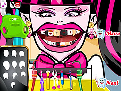 Juega al juego gratis Crazy Dentist