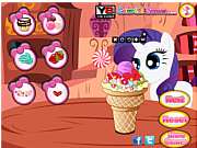 Play Little pony ice cream Game