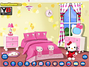 Play Hello kitty bedroom Game