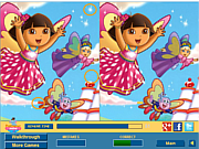 Play Cute dora difference Game
