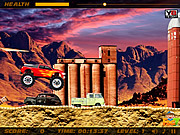 Play Crazy flame truck Game