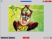 Play Taz jigsaw Game
