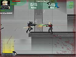 Alien Attack Team game