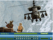 Play Medal of honor hidden letters Game