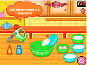 Play Hello kitty strawberry cheese cake Game