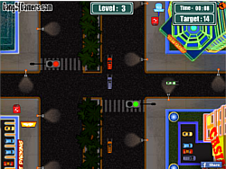 Vegas Traffic Mayhem game