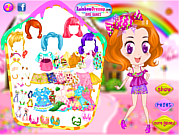 Play Cute candyland doll Game