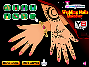 Play New wedding nails makeover Game