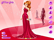 Barbi Red Carpet Dresses game