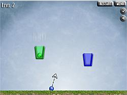 เล่นเกมฟรี Bucket-Ball