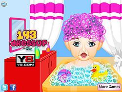 Baby First Haircut At Salon game