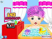 Play Baby first haircut at salon Game