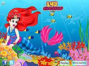 Play Mermaid princess dressup Game