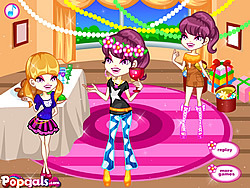 Colorful Girls Dinner Party game