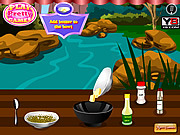 Play Grilled fish with lemon Game