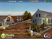 Play Desert dirt motocross Game