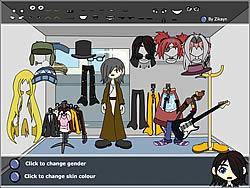 Permainan Character Dress Up Creator