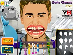 Justin Bieber Perfect Teeth game