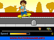 Play Diego school skateboard Game