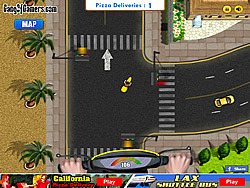 California Pizza Delivery game