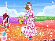 Flower Around Princess game