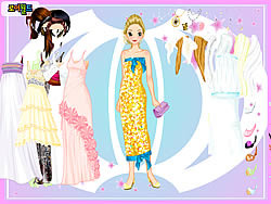 Ball Gown Dress up game