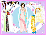 Play Ball gown dress up Game