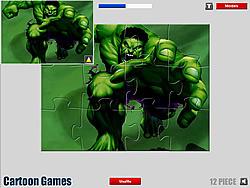 Hulk Jigsaw game
