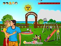 Kinder Garten Kissing game