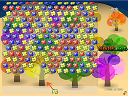 Flower Bubble game