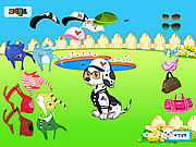 Play Doggy dress up Game