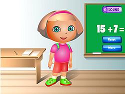 Dressup Dora for School game