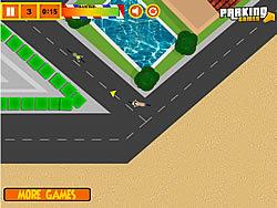 Bike Messenger Parking game