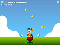 Juggling game