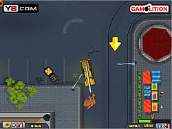 Demolition Crane Parking game