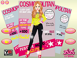 เล่นเกมฟรี Cover Girl Dressup