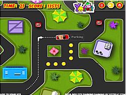 Pizza Boy City Parking game