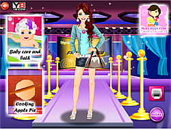 Barbie Color Fashion game