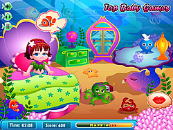 Mermaid Lola Baby Care game