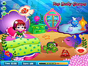 Mermaid Lola Baby Care لعبة