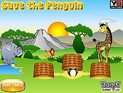 Saving Penguin game